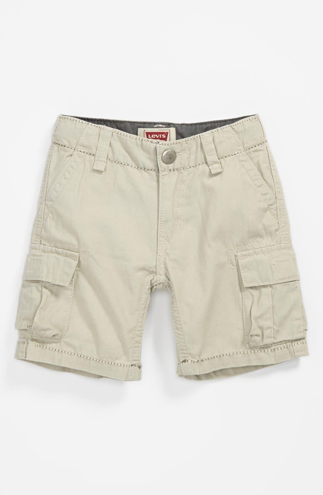 Alternate Image 1 Selected - Levi's® 'Troop' Cargo Shorts (Toddler Boys)