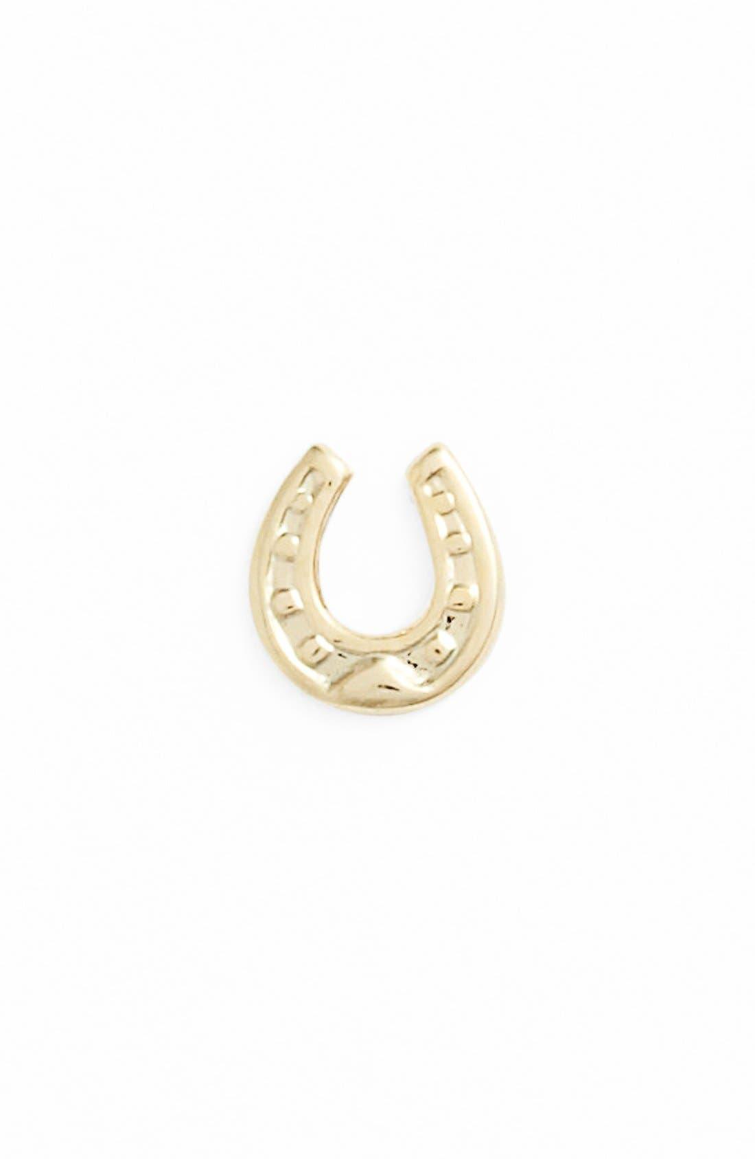 Alternate Image 1 Selected - Bonnie Jonas 'Horseshoe' Stud Earring