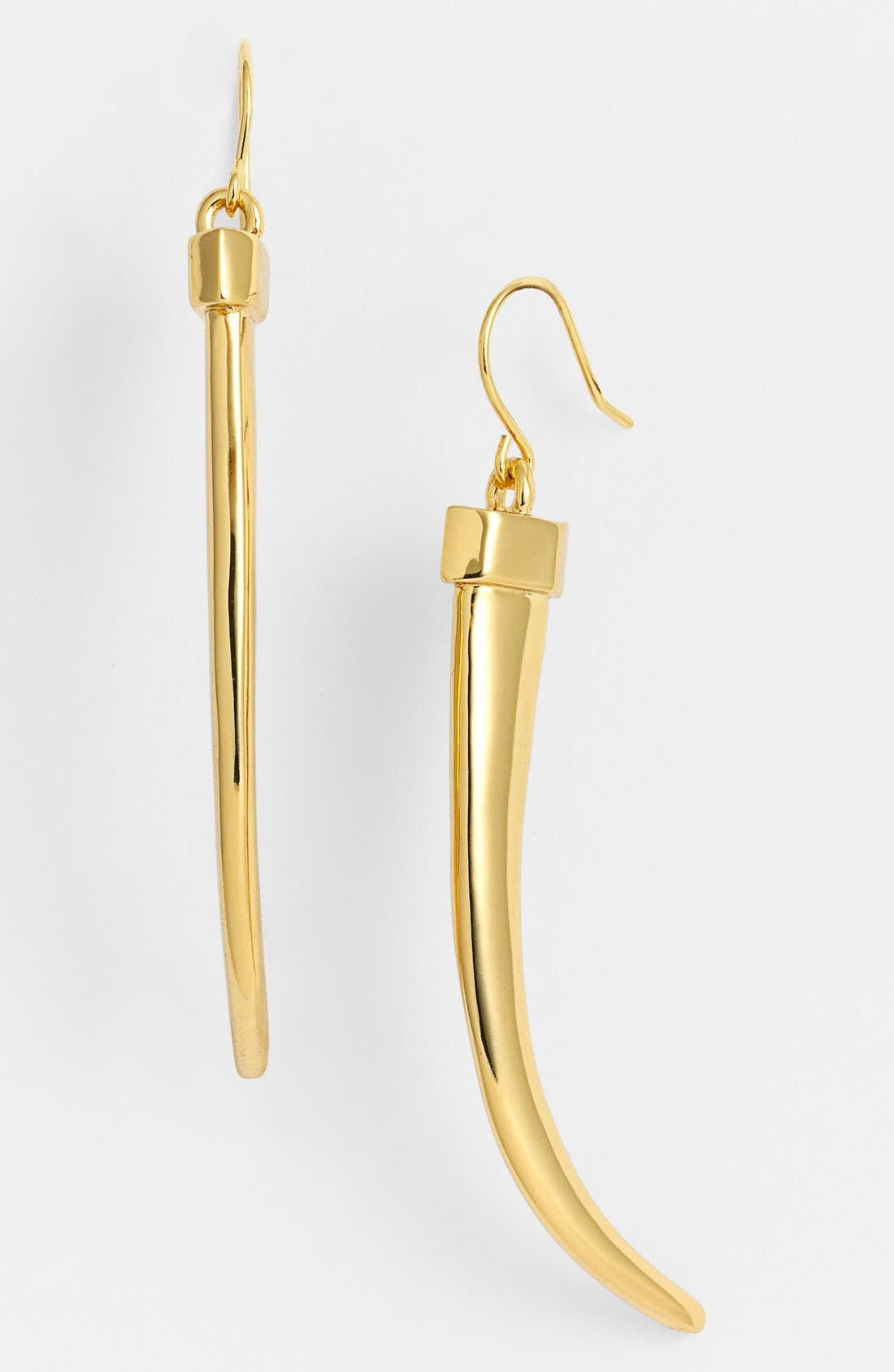 Alternate Image 1 Selected - Vince Camuto 'By the Horns' Linear Earrings