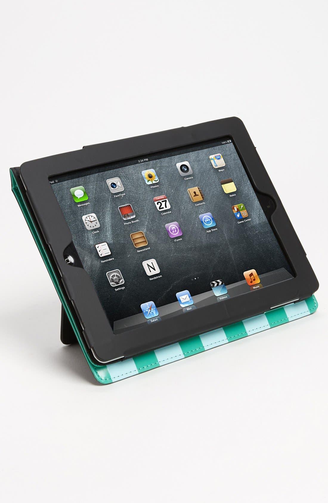 Alternate Image 4  - kate spade new york 'petula stripe' iPad 2 & 3 folio
