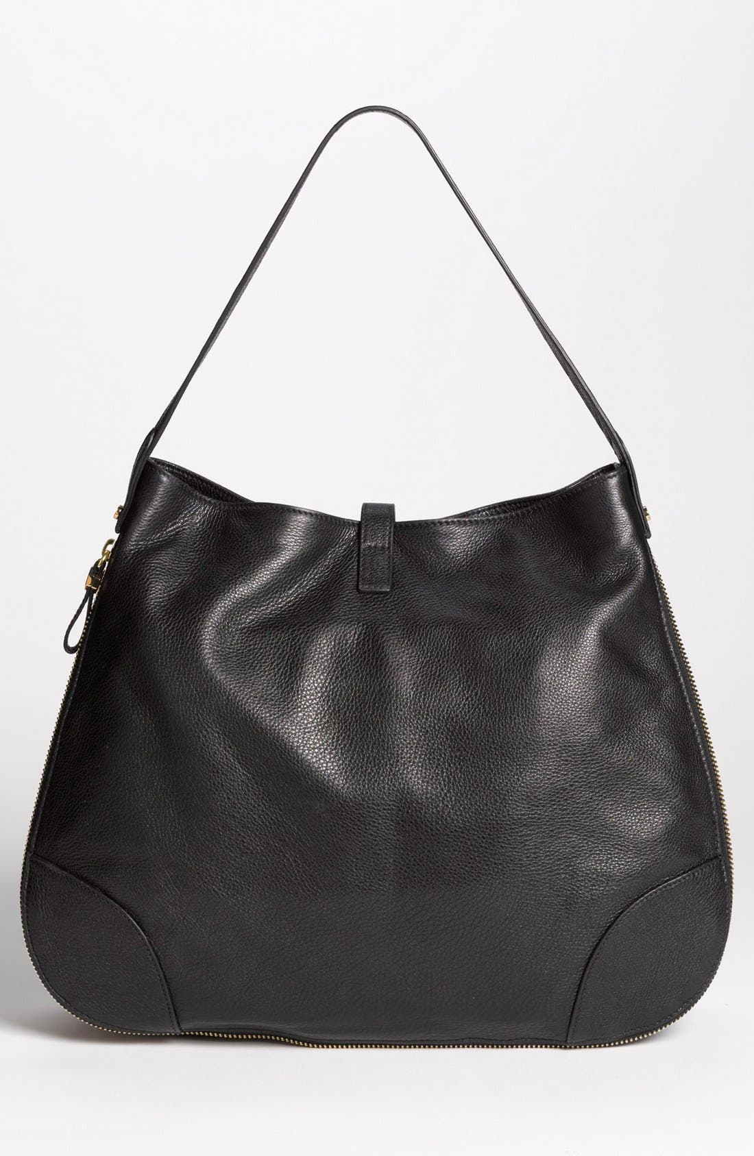 Alternate Image 4  - Tory Burch 'Clay - Classic' Leather Hobo