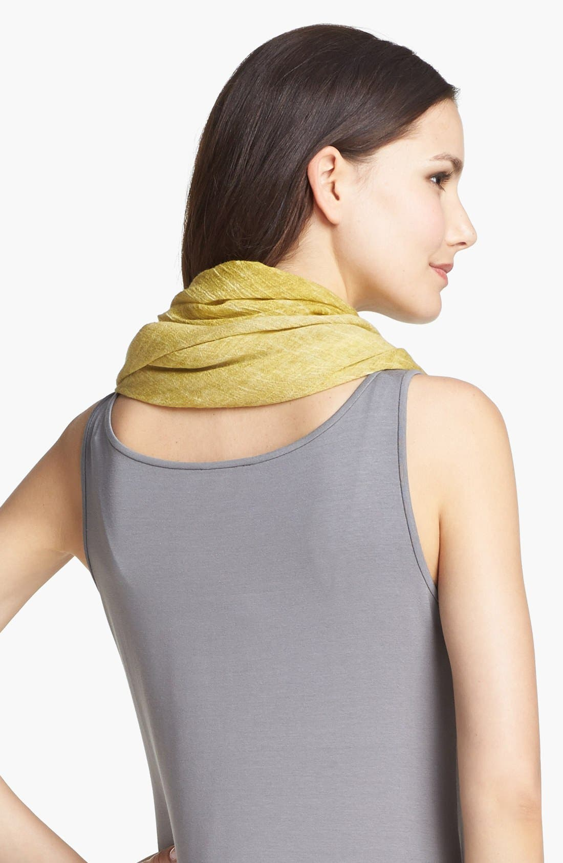 Alternate Image 3  - Eileen Fisher Tinted Triangle Scarf