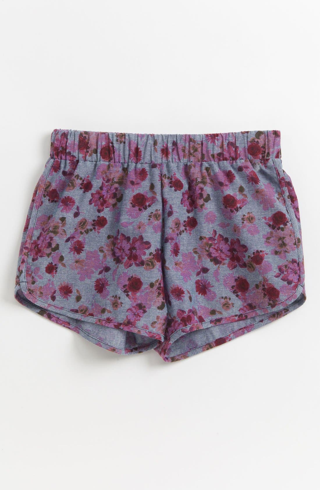 Alternate Image 1 Selected - Mia Chica Dolphin Hem Shorts (Big Girls)