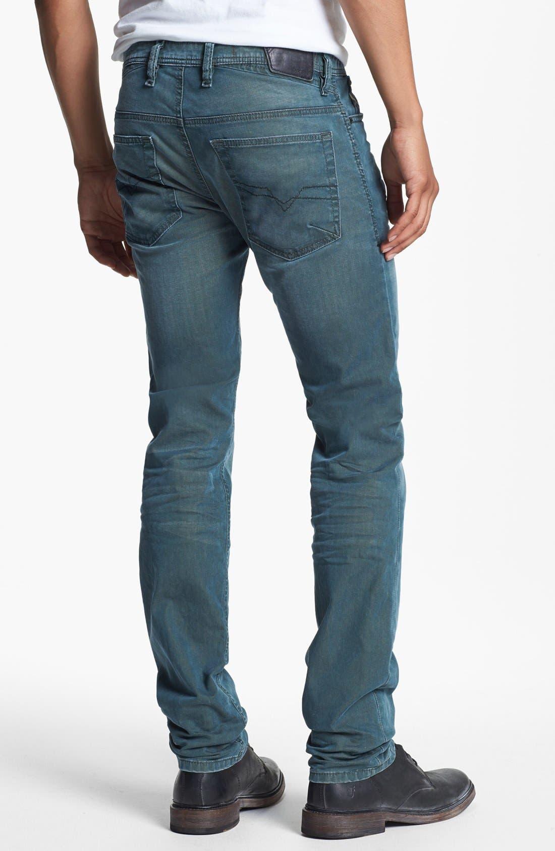Alternate Image 1 Selected - DIESEL® 'Shioner' Skinny Fit Jeans (0603B)