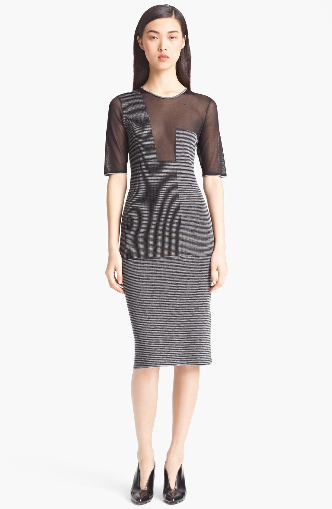 Main Image - Missoni Sheer Panel Dress