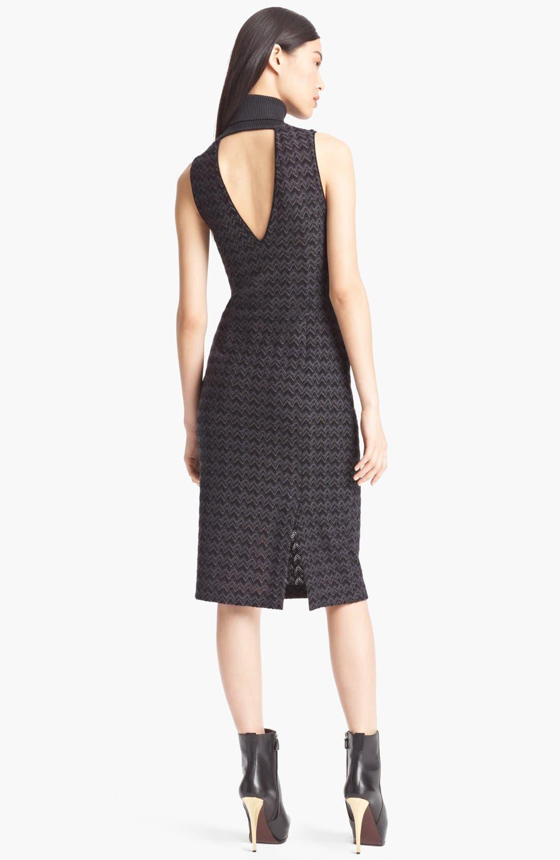 Alternate Image 2  - Missoni Turtleneck Dress