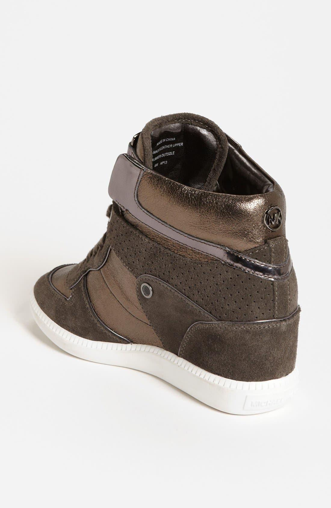 Alternate Image 2  - MICHAEL Michael Kors 'Nikko' High Top Sneaker