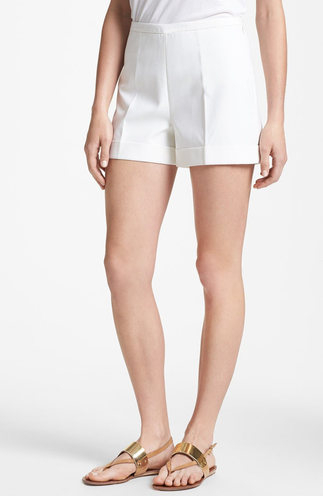 Alternate Image 1 Selected - Ted Baker London Cuff Shorts