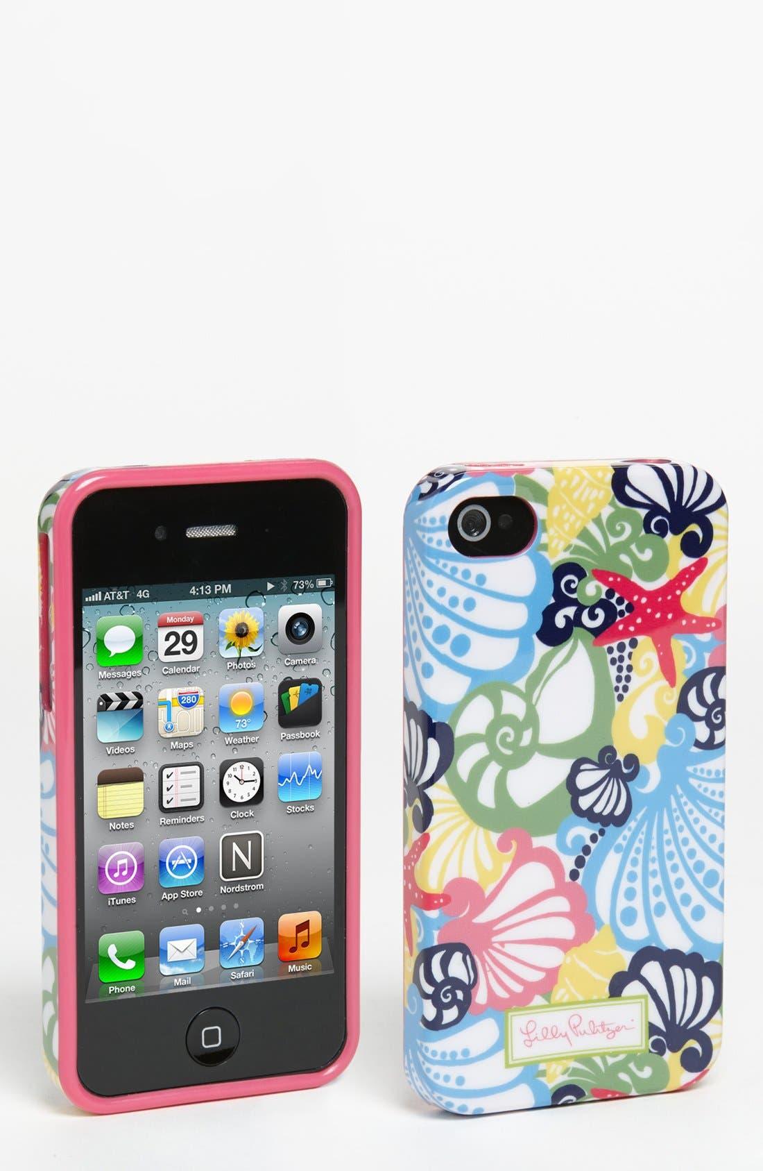 Main Image - Lilly Pulitzer® 'Chiquita Bonita' iPhone 4 & 4S Case
