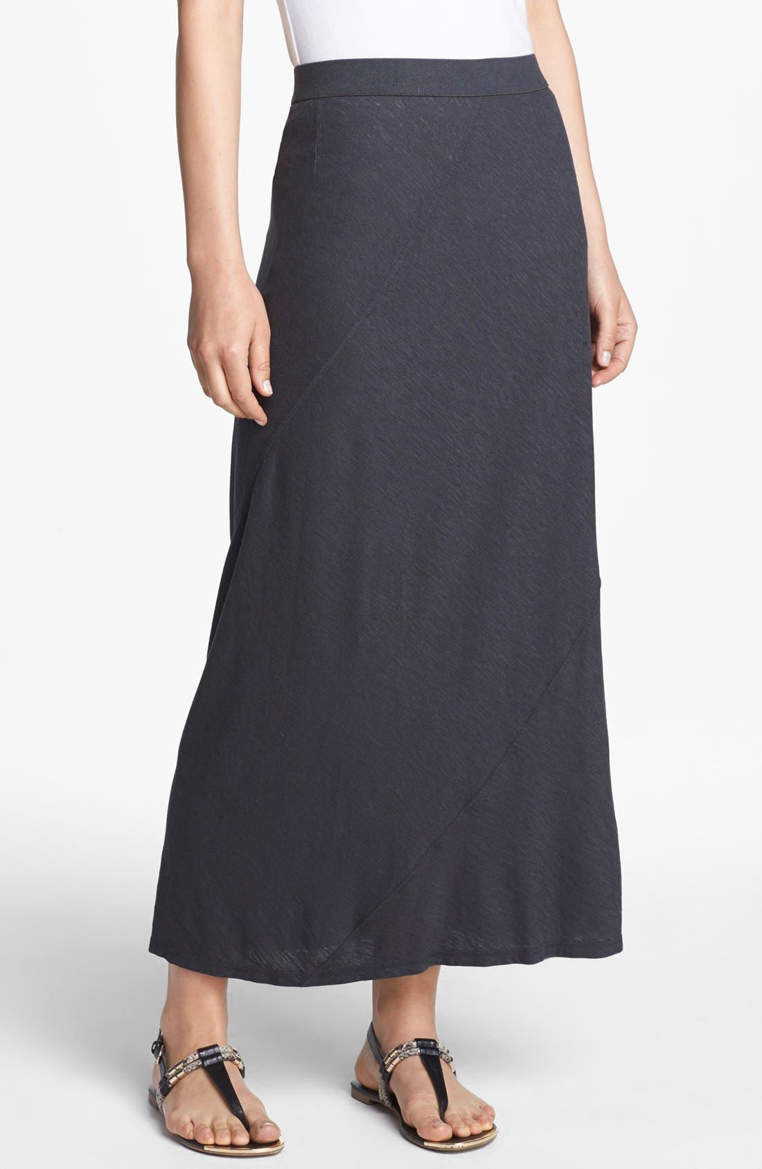Main Image - Eileen Fisher Seamed Maxi Skirt