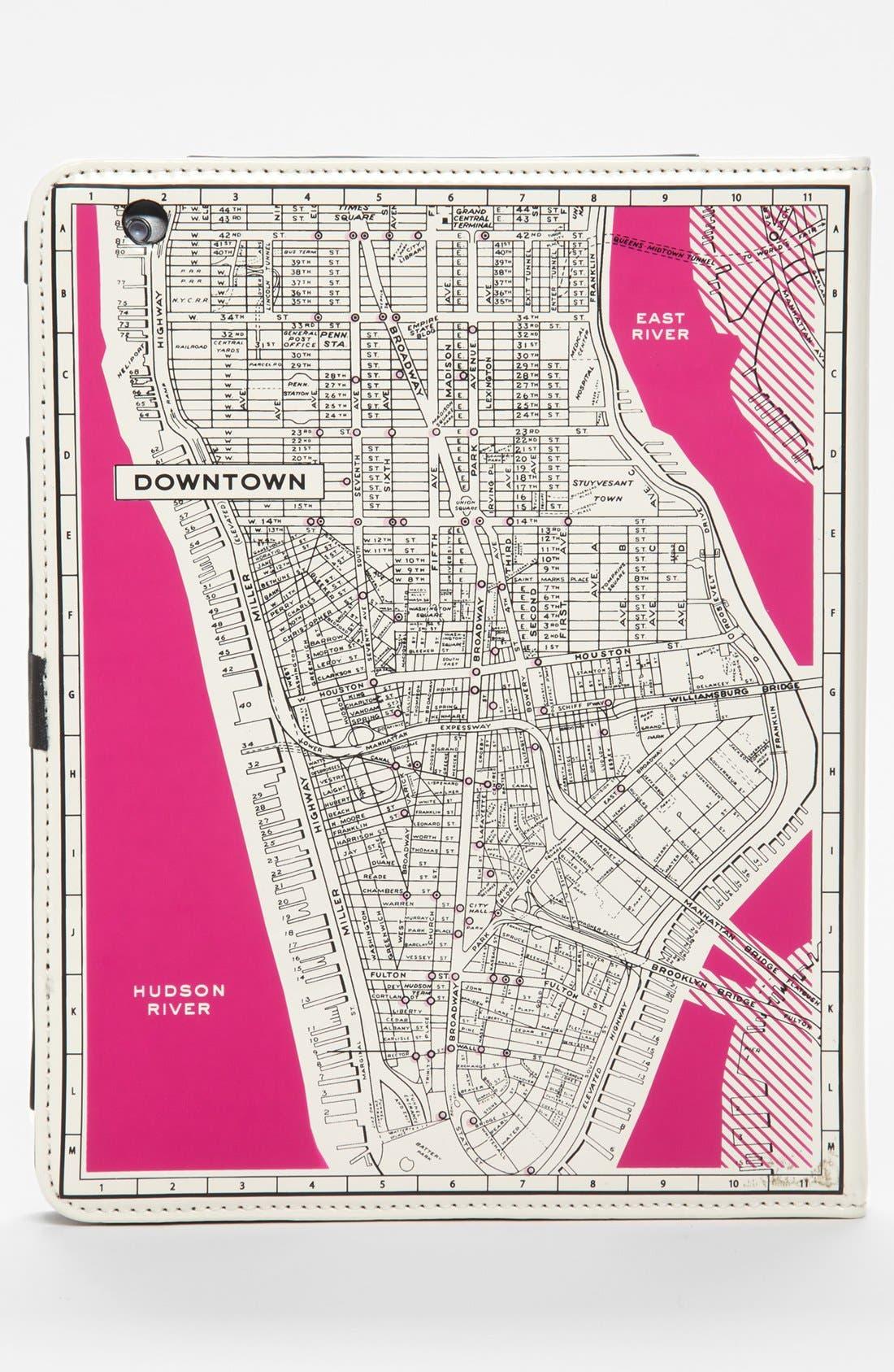 Alternate Image 4  - kate spade new york 'new york map' iPad 2 & 3 folio