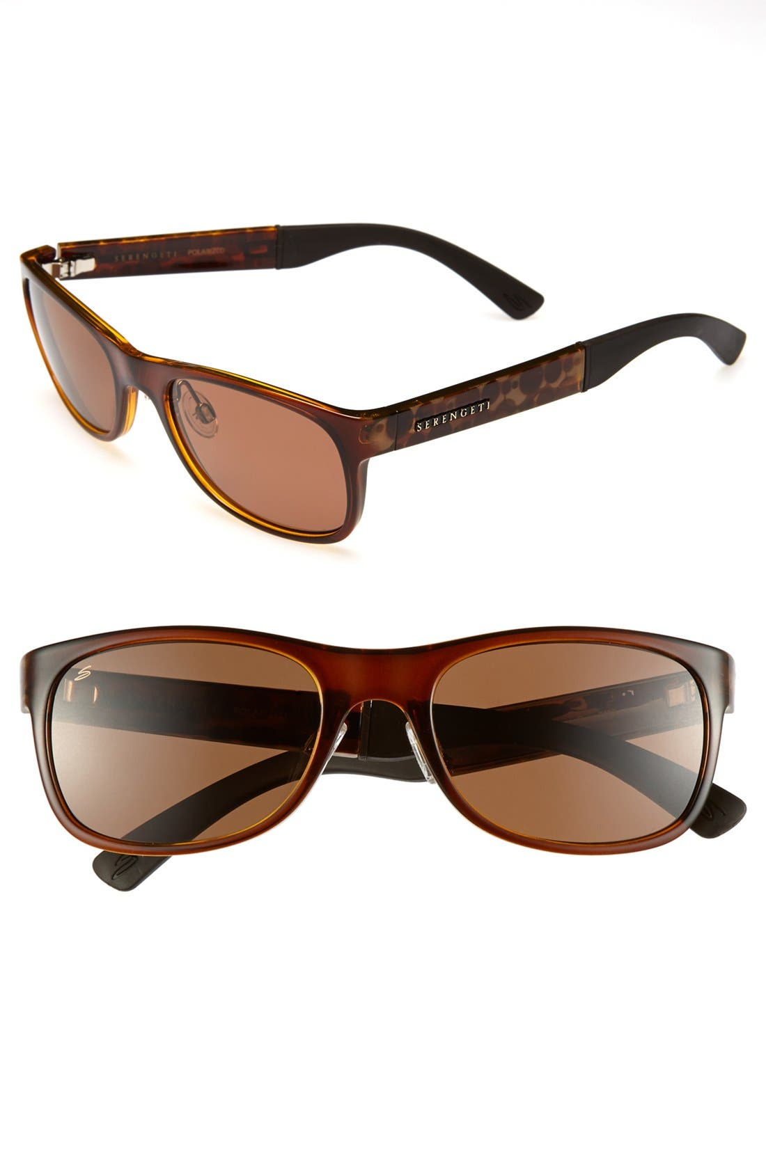 Main Image - Serengeti 'Piero' 56mm Polarized Sunglasses