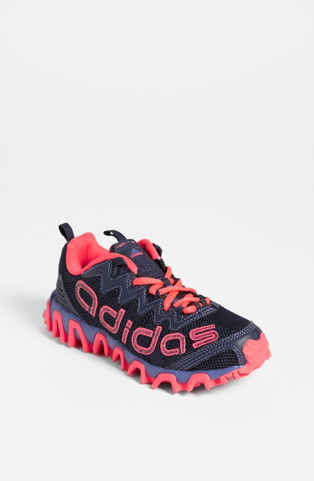 Alternate Image 1 Selected - adidas 'Vigor Trail 2' Running Shoe (Toddler, Little Kid & Big Kid)
