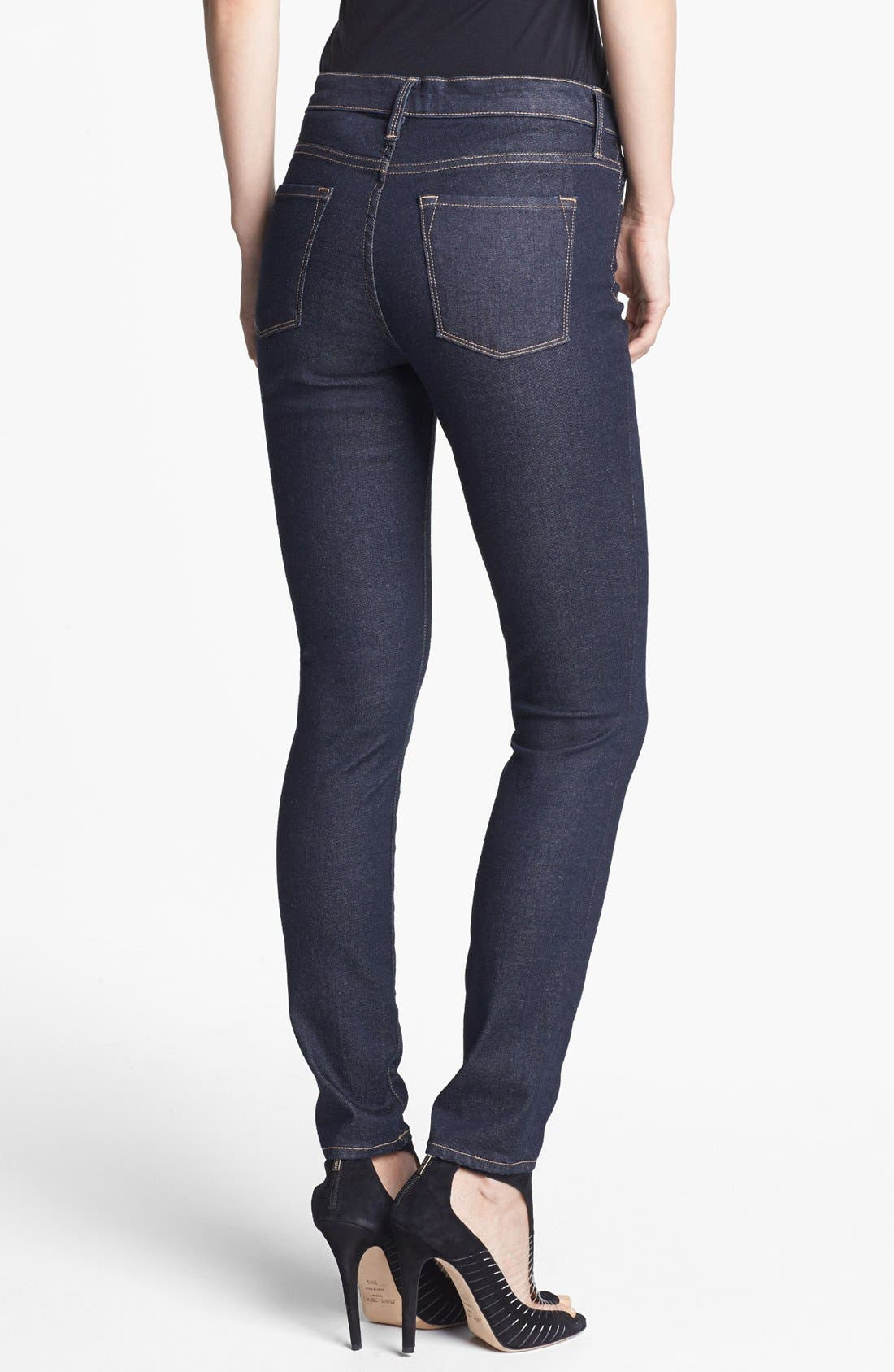 Alternate Image 2  - Frame Denim 'Le Skinny de Jeanne' Jeans