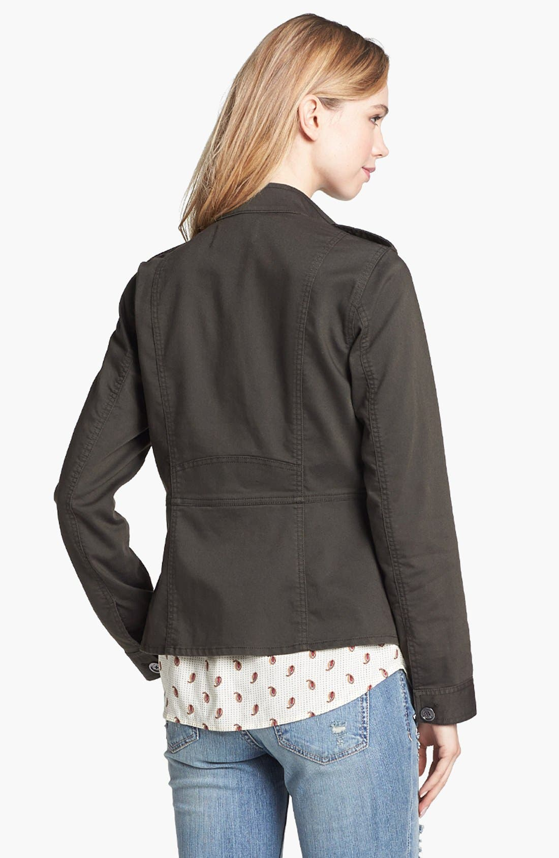 Alternate Image 4  - Two by Vince Camuto Four Pocket Utility Jacket