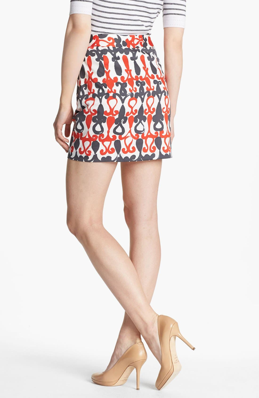Alternate Image 2  - Milly 'Combo' Print Miniskirt