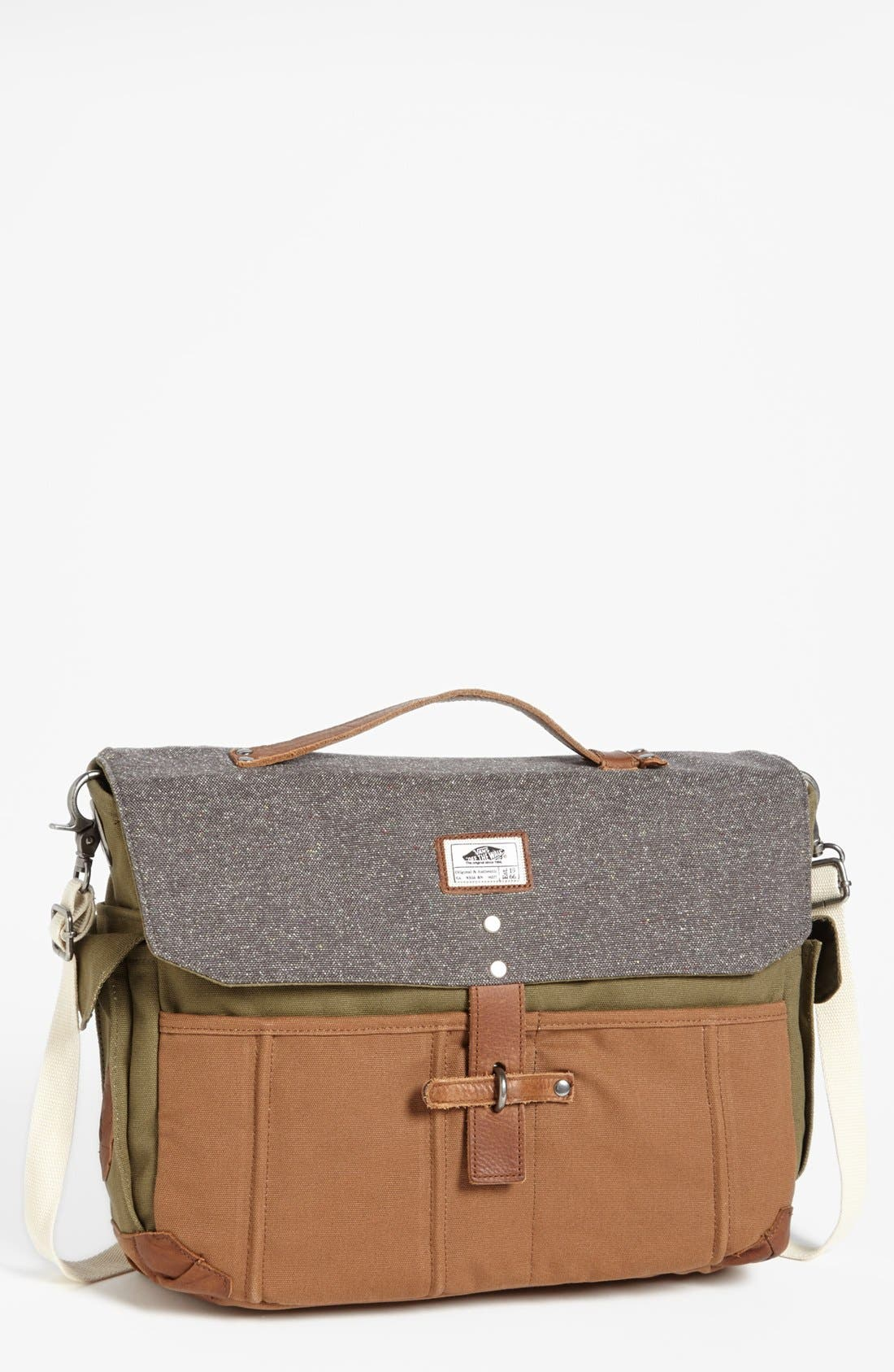Alternate Image 1 Selected - Vans 'Lassen' Messenger Bag