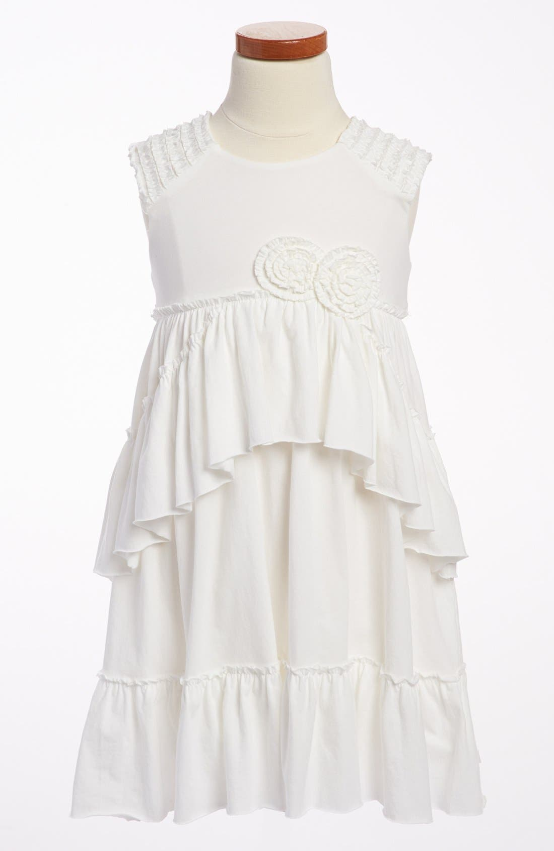 Main Image - Isobella & Chloe 'Rebecca' Ruffle Dress (Little Girls & Big Girls)