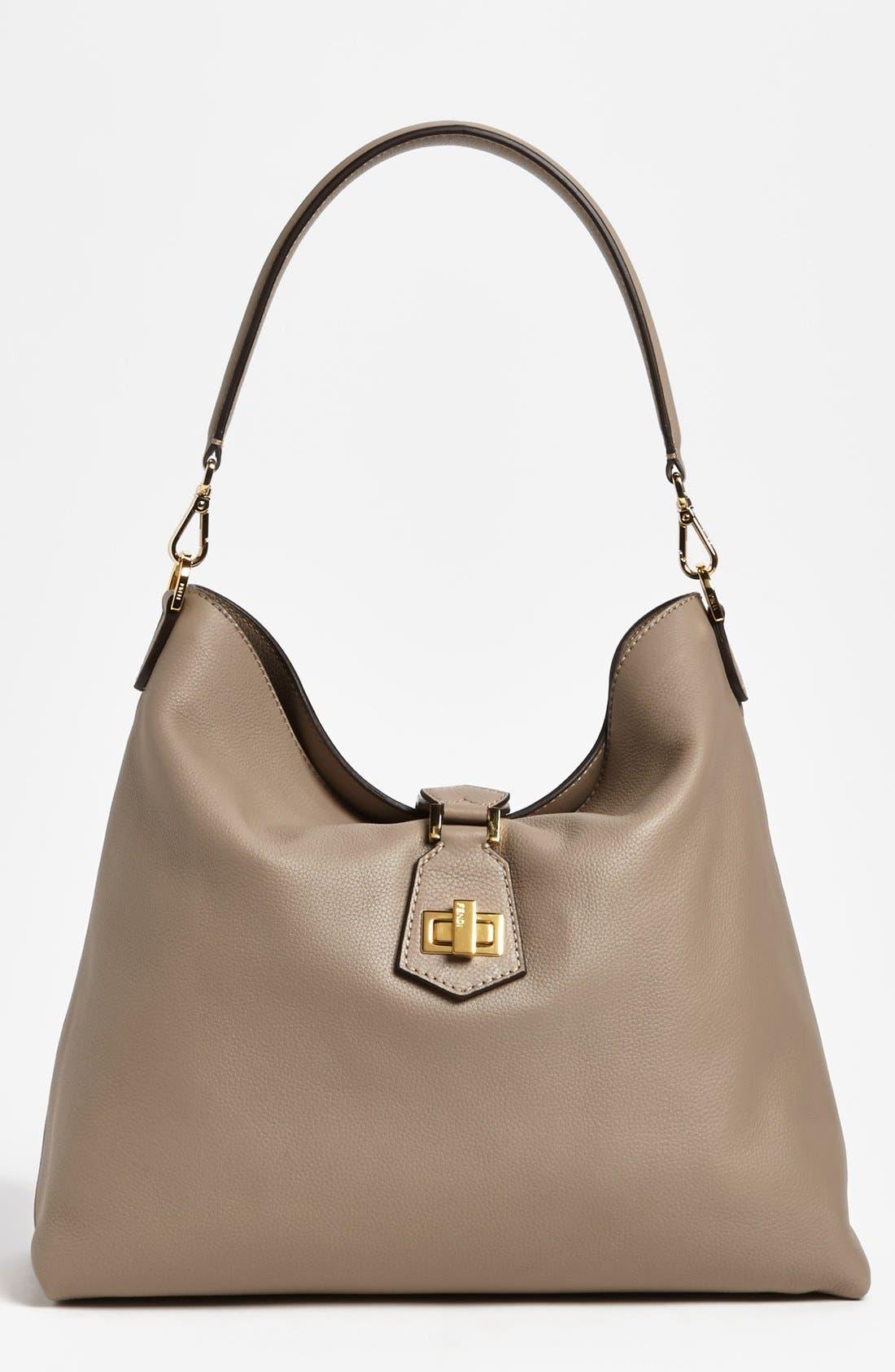 Main Image - Fendi Leather Hobo