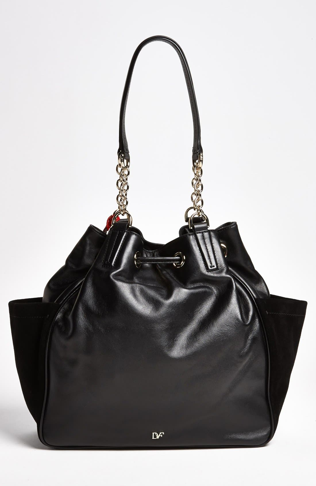 Alternate Image 4  - Diane von Furstenberg 'Sydney' Leather Tote