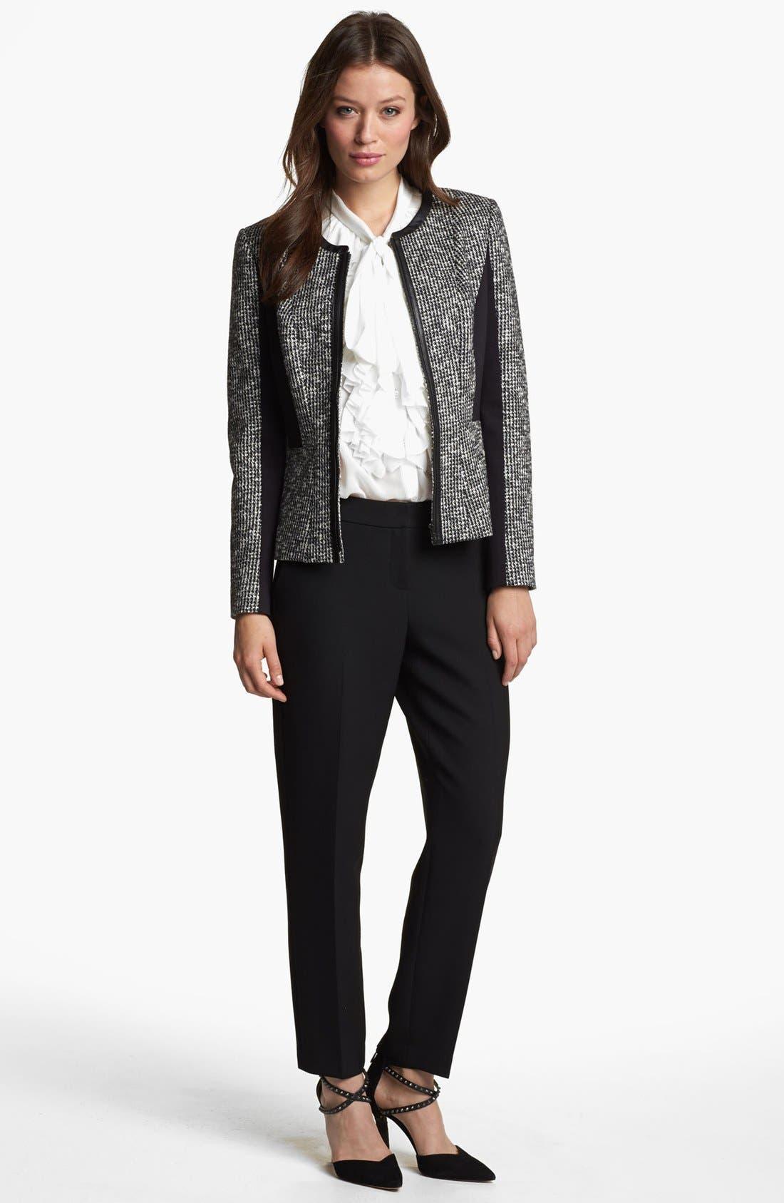 Alternate Image 2  - Classiques Entier® 'Notion Weave' Slim Ankle Pants