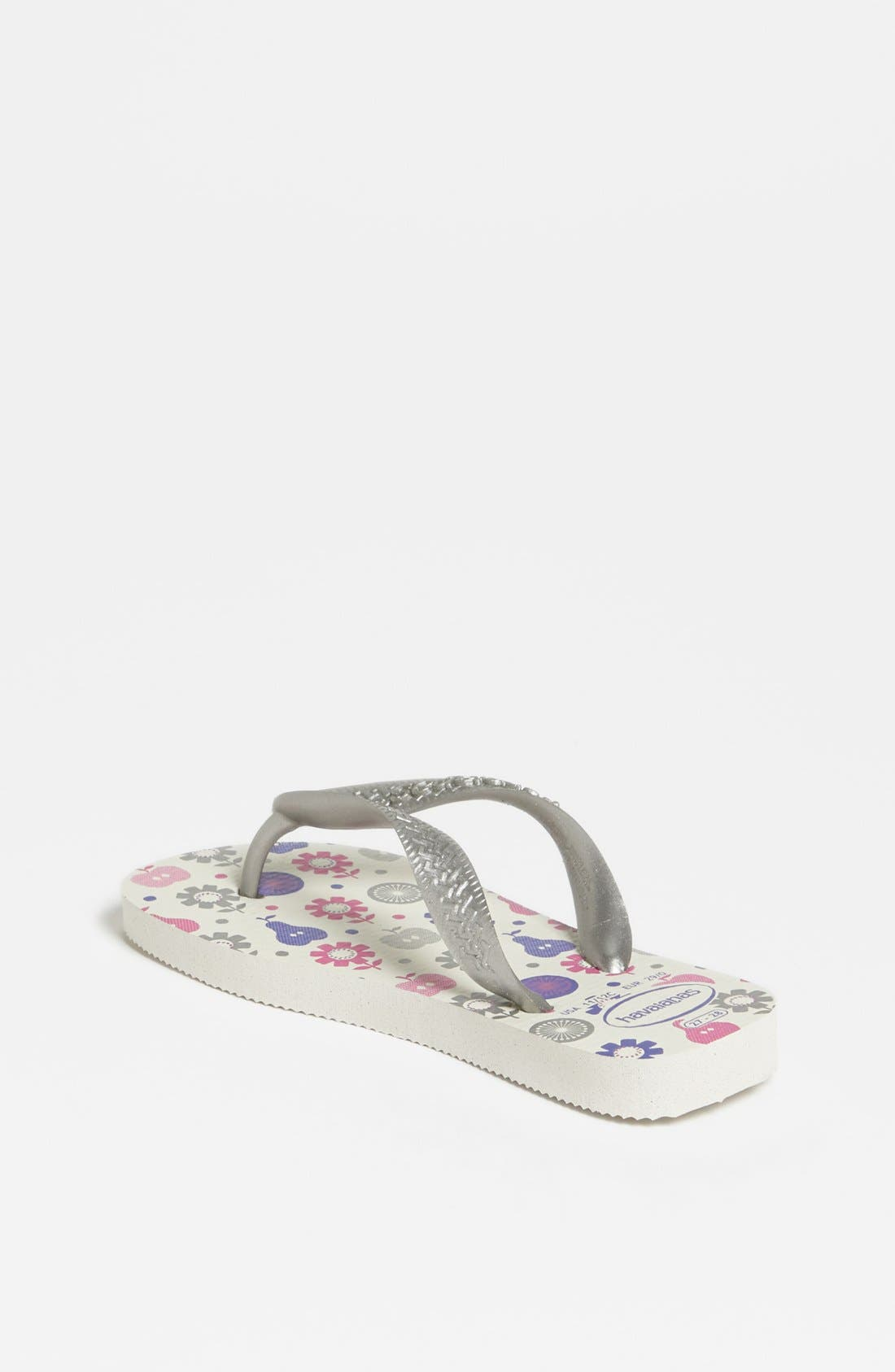 Alternate Image 3  - Havaianas 'Flores' Flip Flop (Toddler & Little Kid)