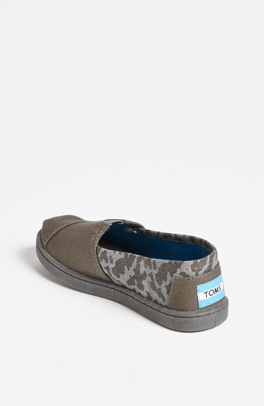 Alternate Image 2  - TOMS 'Classic - Camo' Slip-On (Toddler, Little Kid & Big Kid)