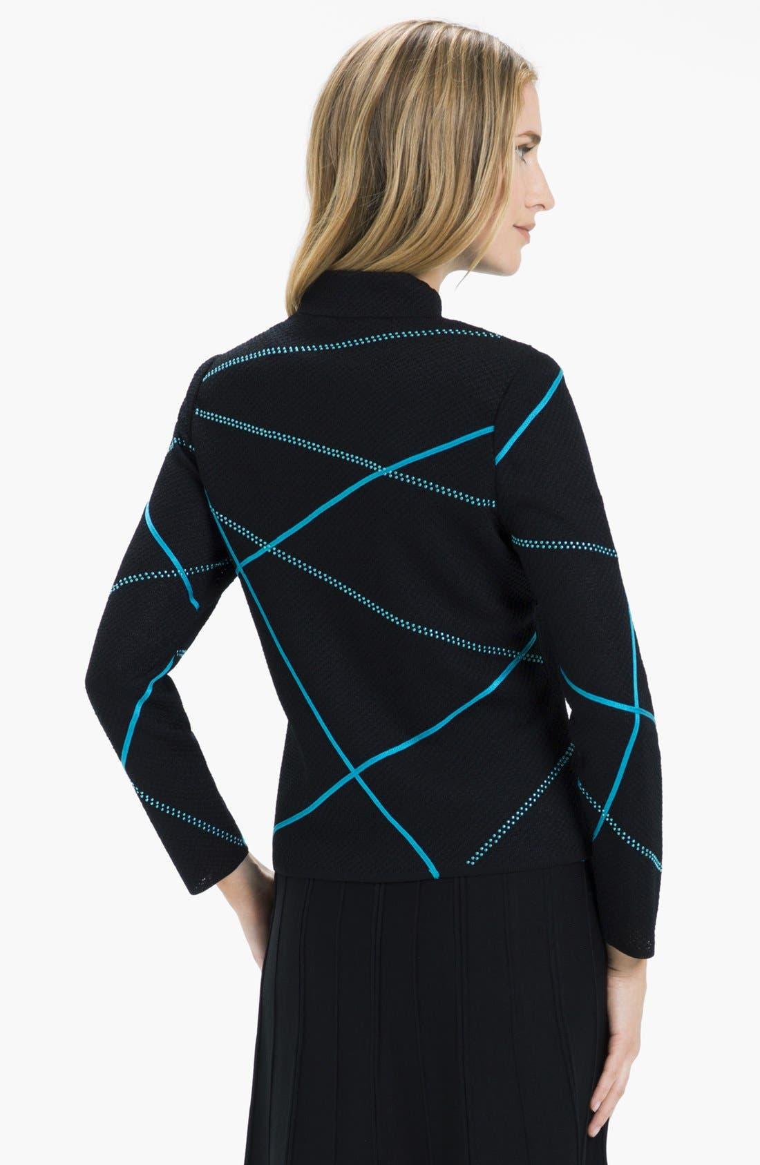 Alternate Image 2  - Ming Wang Embellished Mock Neck Jacket