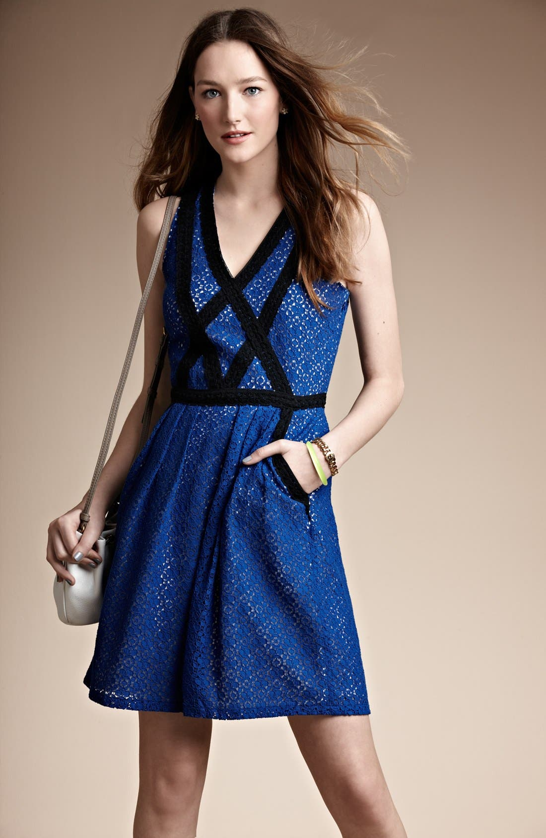Alternate Image 5  - MARC BY MARC JACOBS 'Collage' Lace Fit & Flare Dress