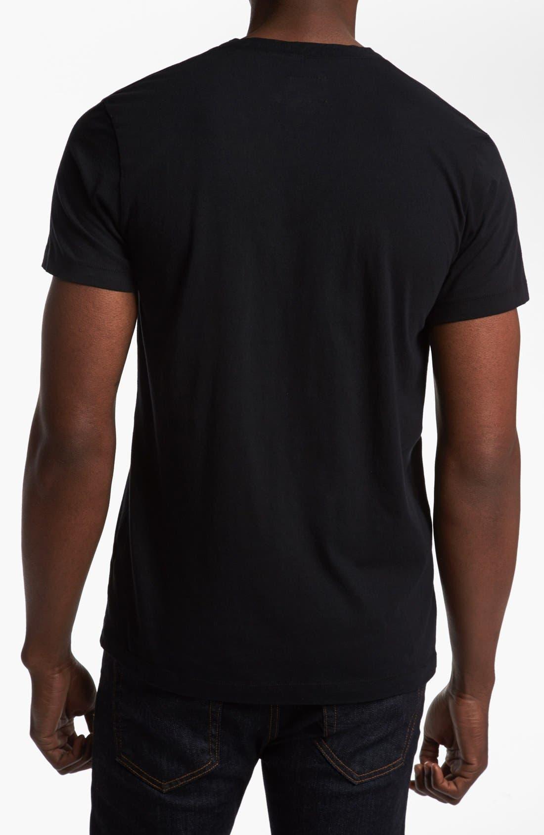Alternate Image 2  - DIESEL® 'T-Brisk-RS' V-Neck T-Shirt