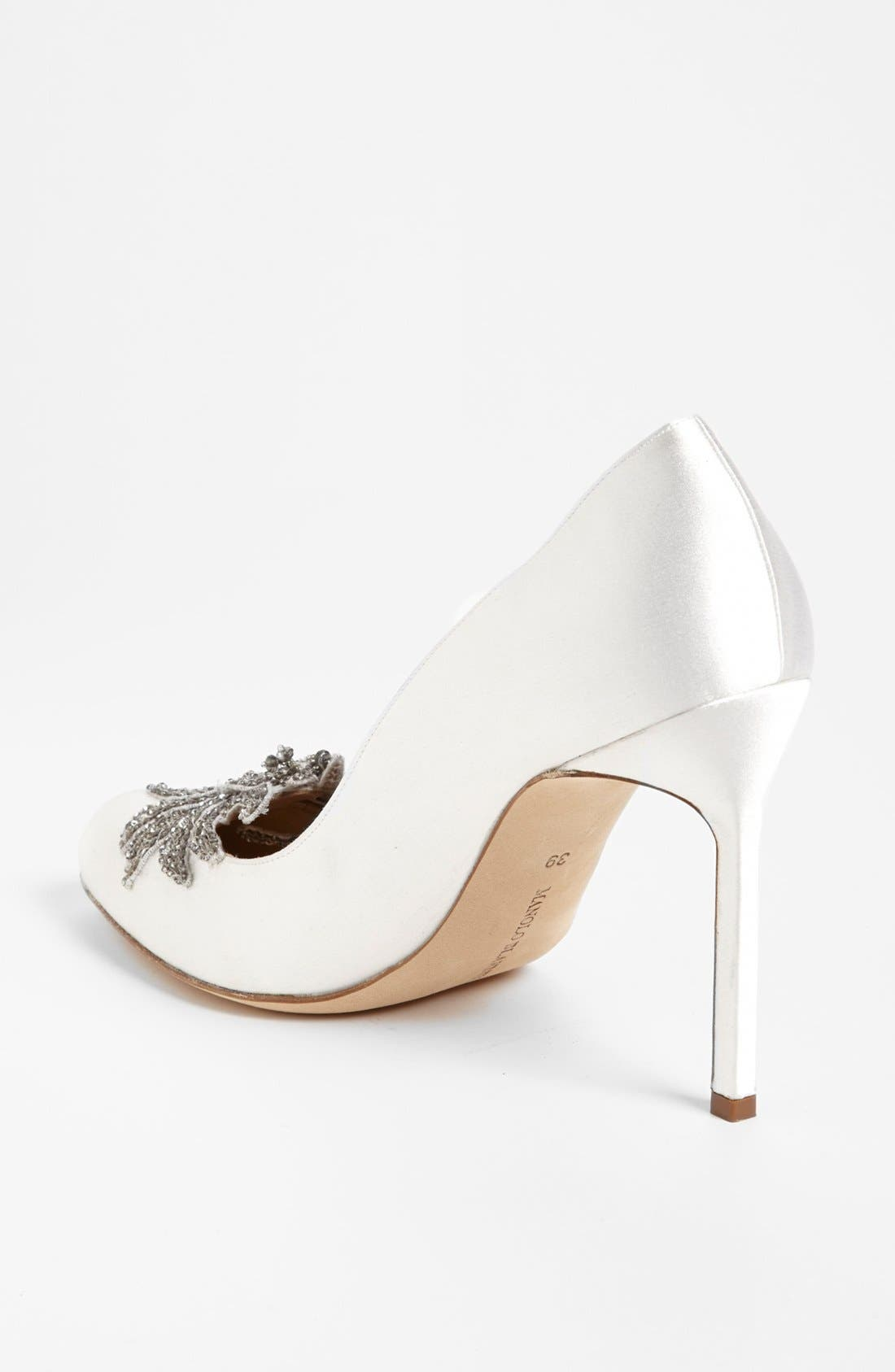 Alternate Image 2  - Manolo Blahnik 'Swan' Pump (Women)