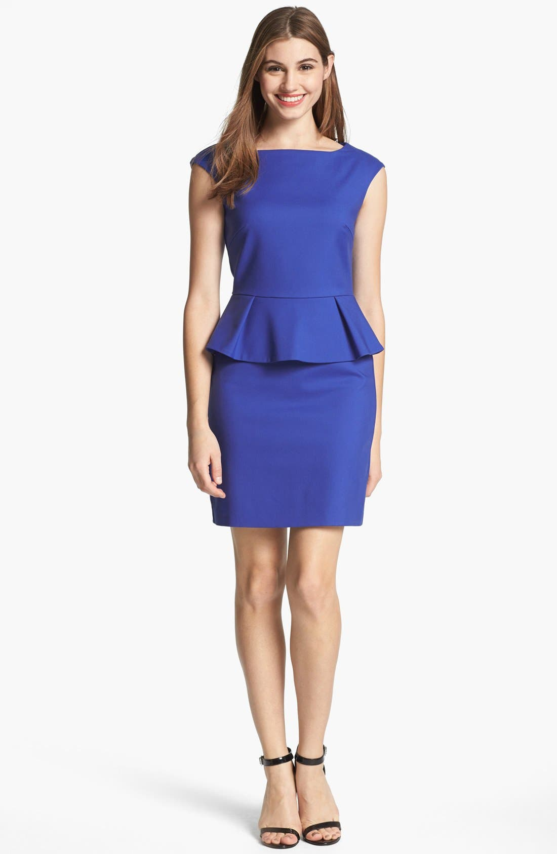 Alternate Image 1 Selected - French Connection Peplum Sheath Dress