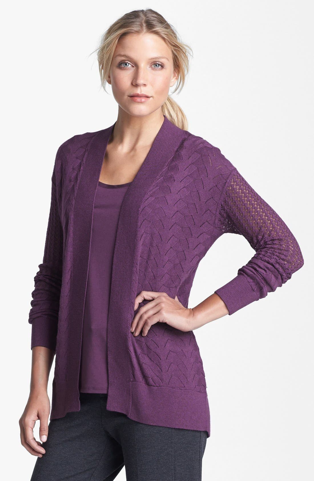 Alternate Image 1 Selected - Amber Sun Mix Knit Cardigan