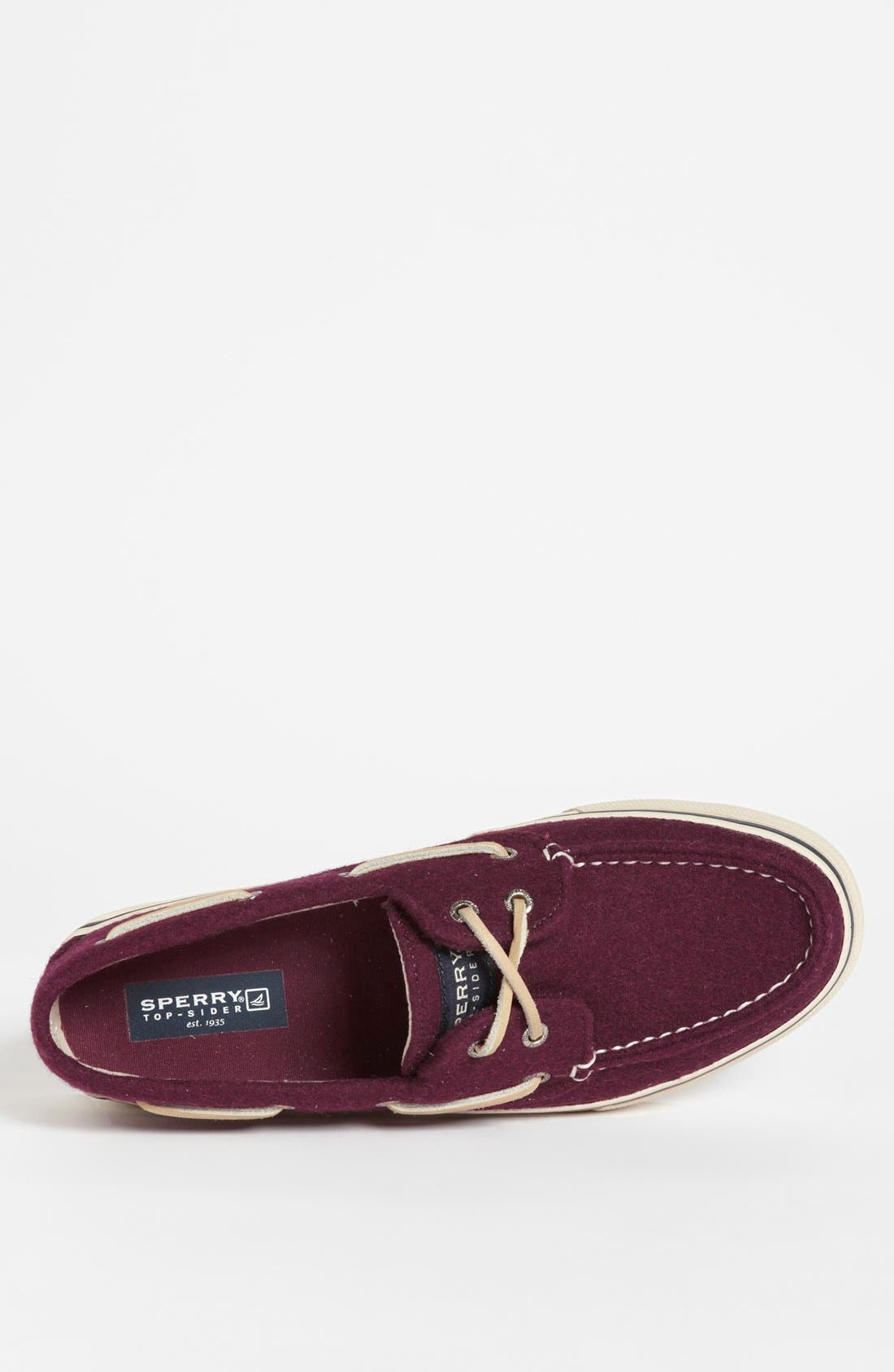Alternate Image 3  - Sperry Top-Sider® 'Bahama' Wool Boat Shoe