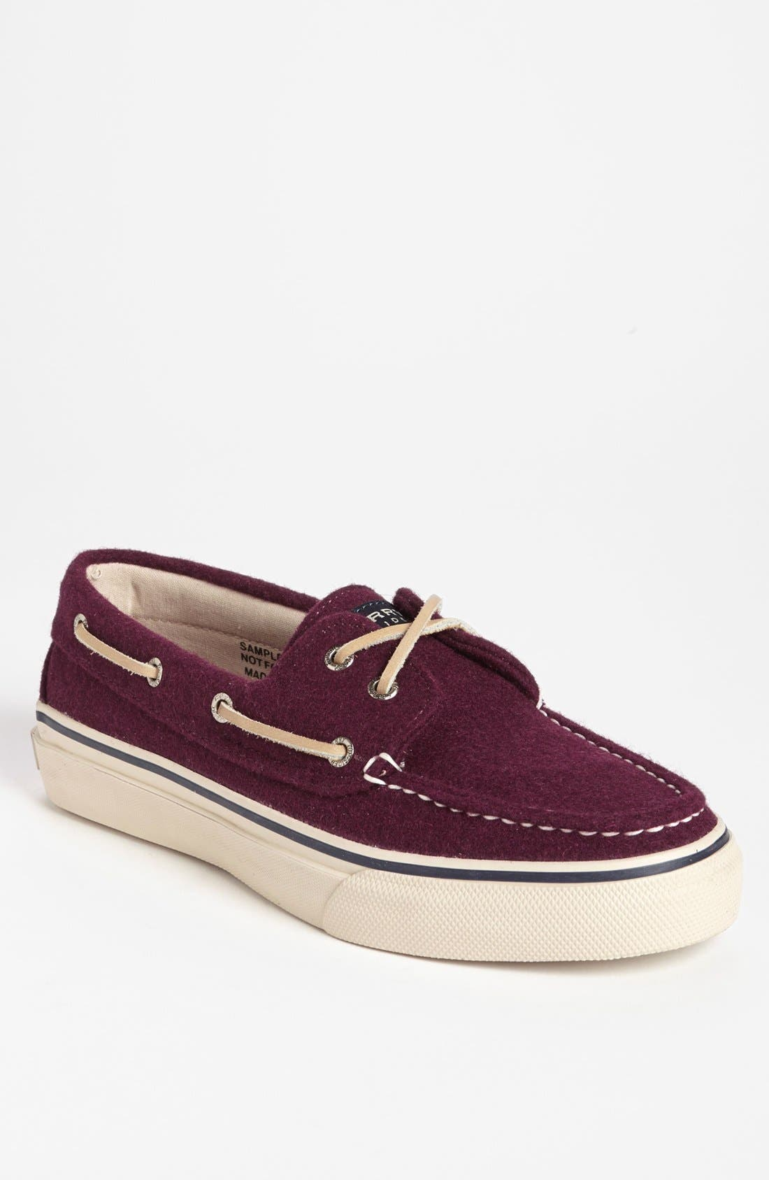Main Image - Sperry Top-Sider® 'Bahama' Wool Boat Shoe