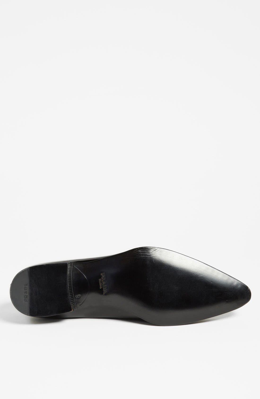 Alternate Image 4  - Prada Pointed Loafer