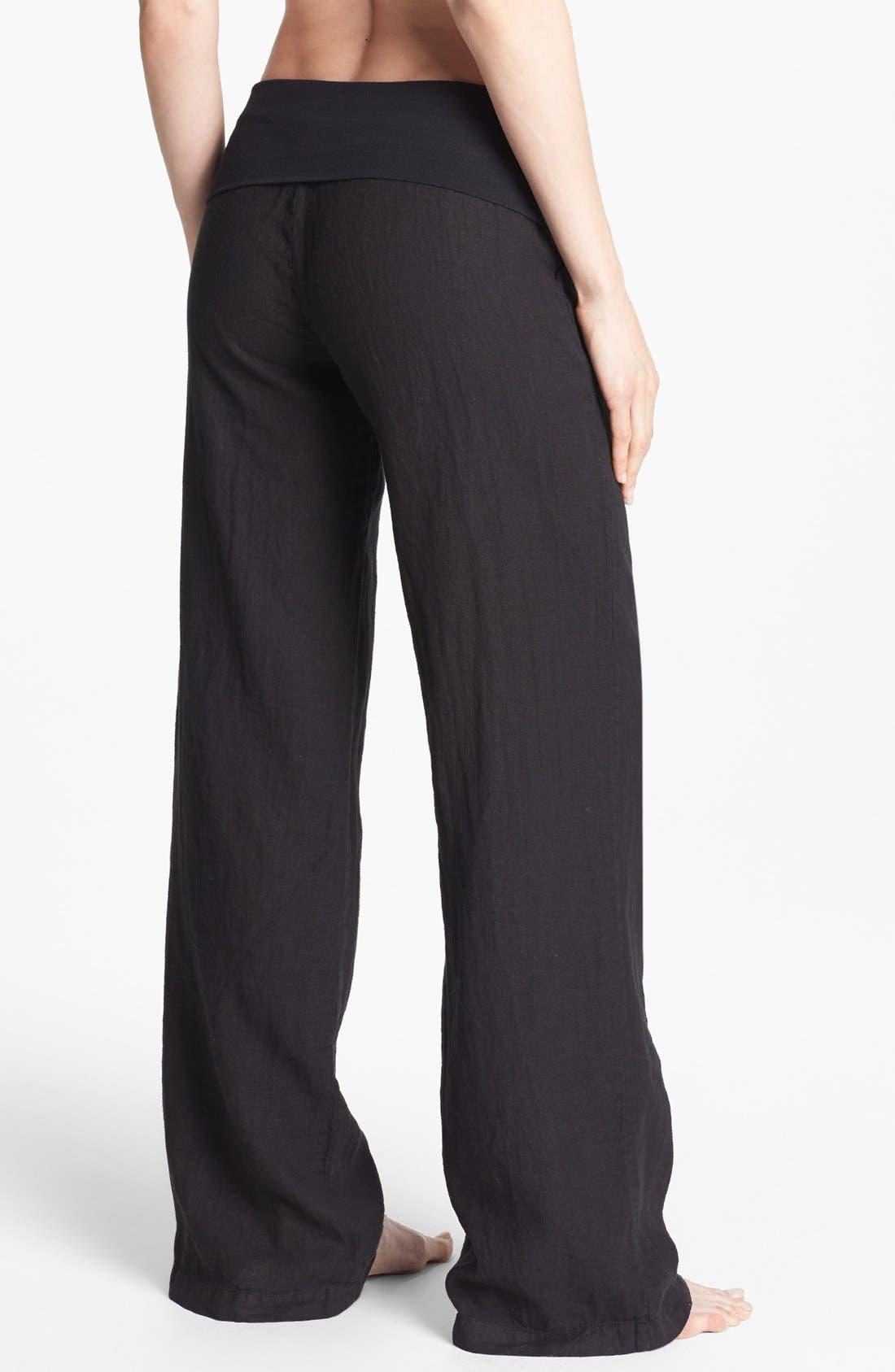 Alternate Image 2  - Solow Wide Leg Linen Pants