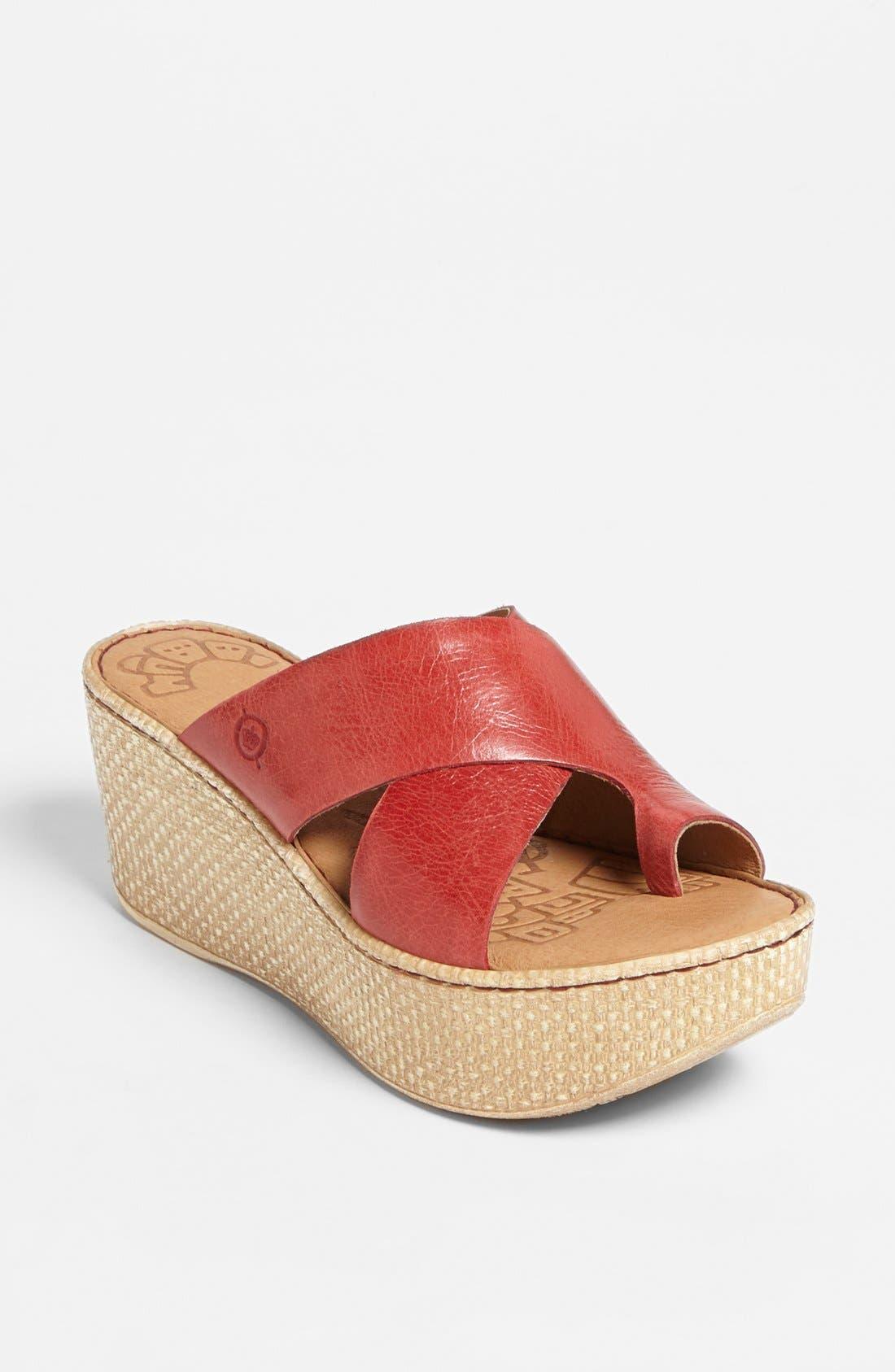 Main Image - Børn 'Shelene' Sandal (Special Purchase)