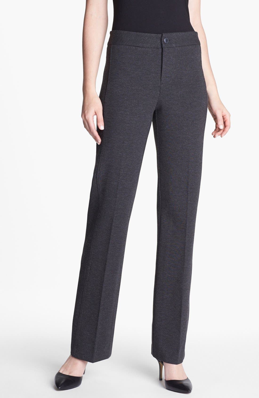 Alternate Image 1 Selected - NYDJ Stretch Ponte Trousers