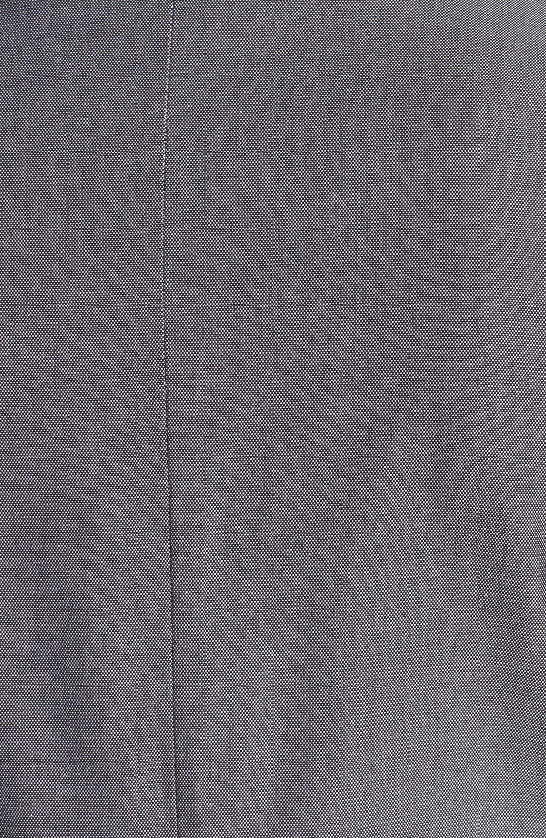 Alternate Image 3  - Topman Skinny Cotton Blazer