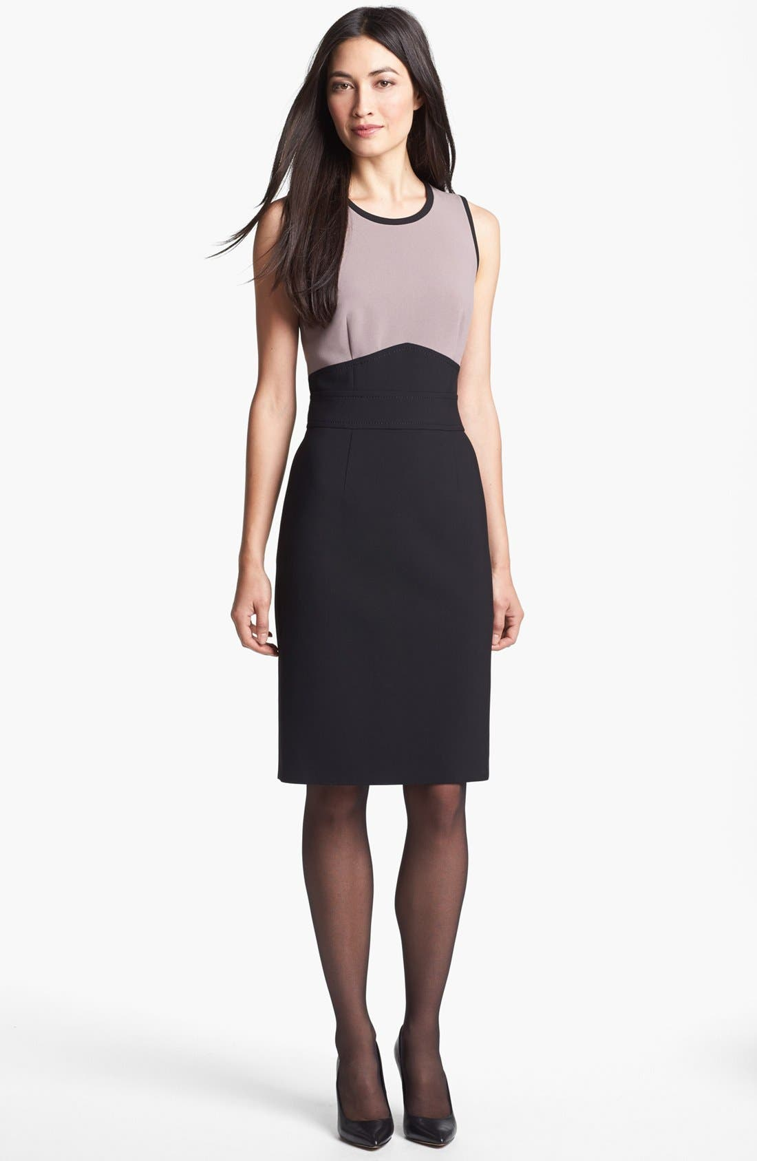 Alternate Image 1 Selected - BOSS HUGO BOSS 'Dalota' Sheath Dress