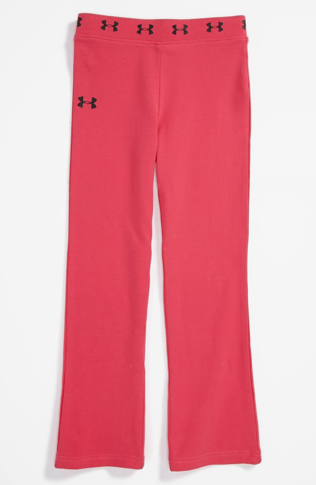 Main Image - Under Armour Yoga Pants (Little Girls)