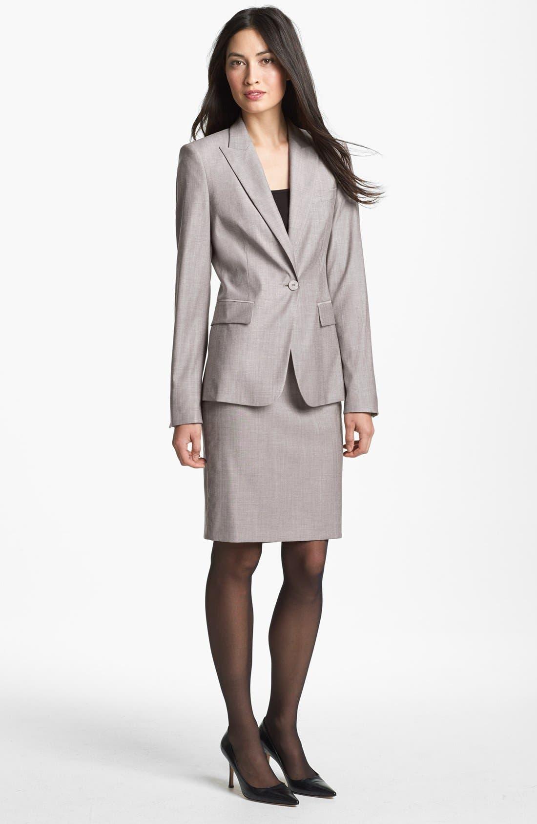 Alternate Image 3  - BOSS HUGO BOSS 'Vilina1' Skirt