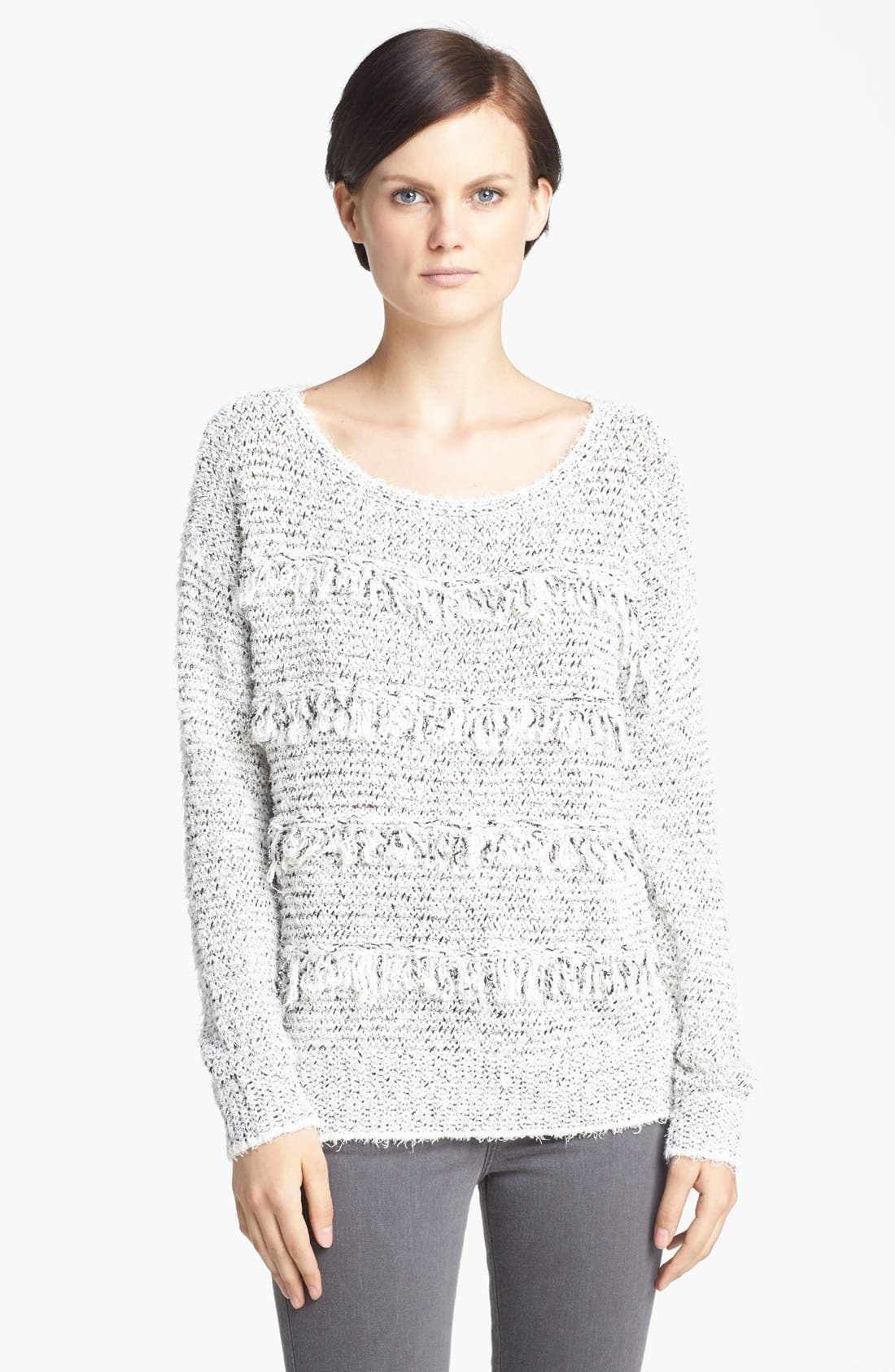 Alternate Image 1 Selected - Joie 'Camille' Fringe Sweater