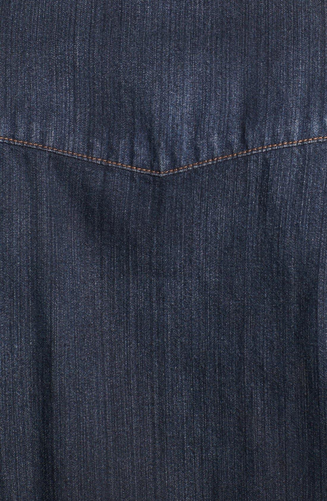Alternate Image 3  - BLK DNM Western Denim Shirt