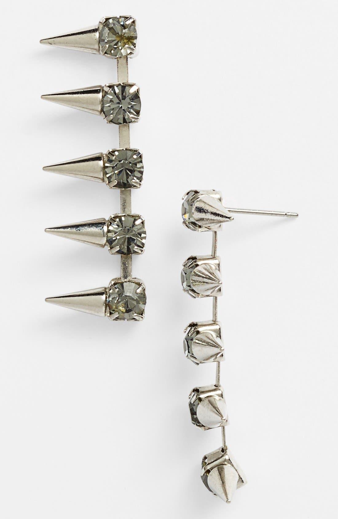 Alternate Image 1 Selected - Robert Rose 'Crystal Spike' Drop Earrings