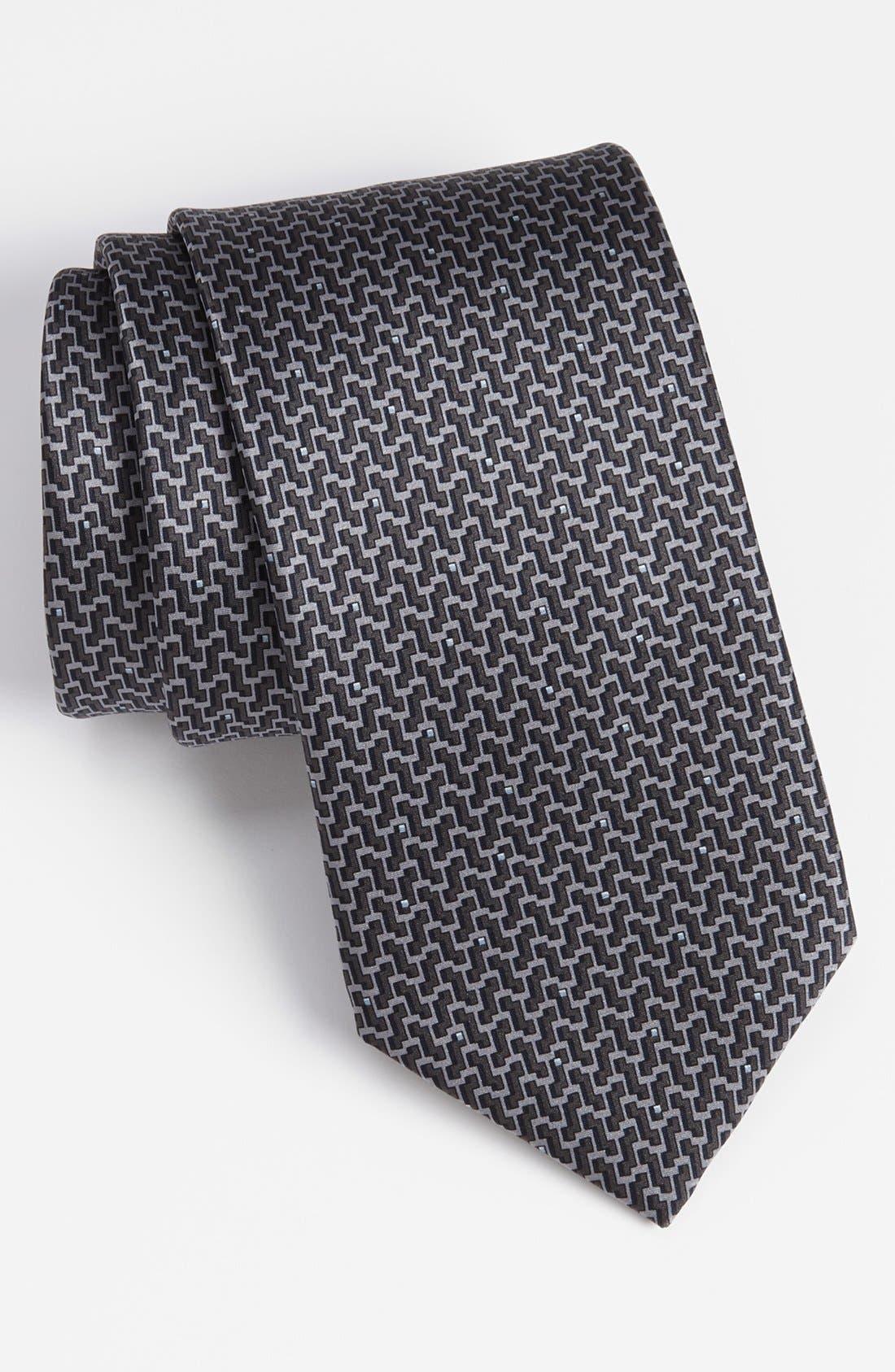 Main Image - Lanvin Woven Silk Tie