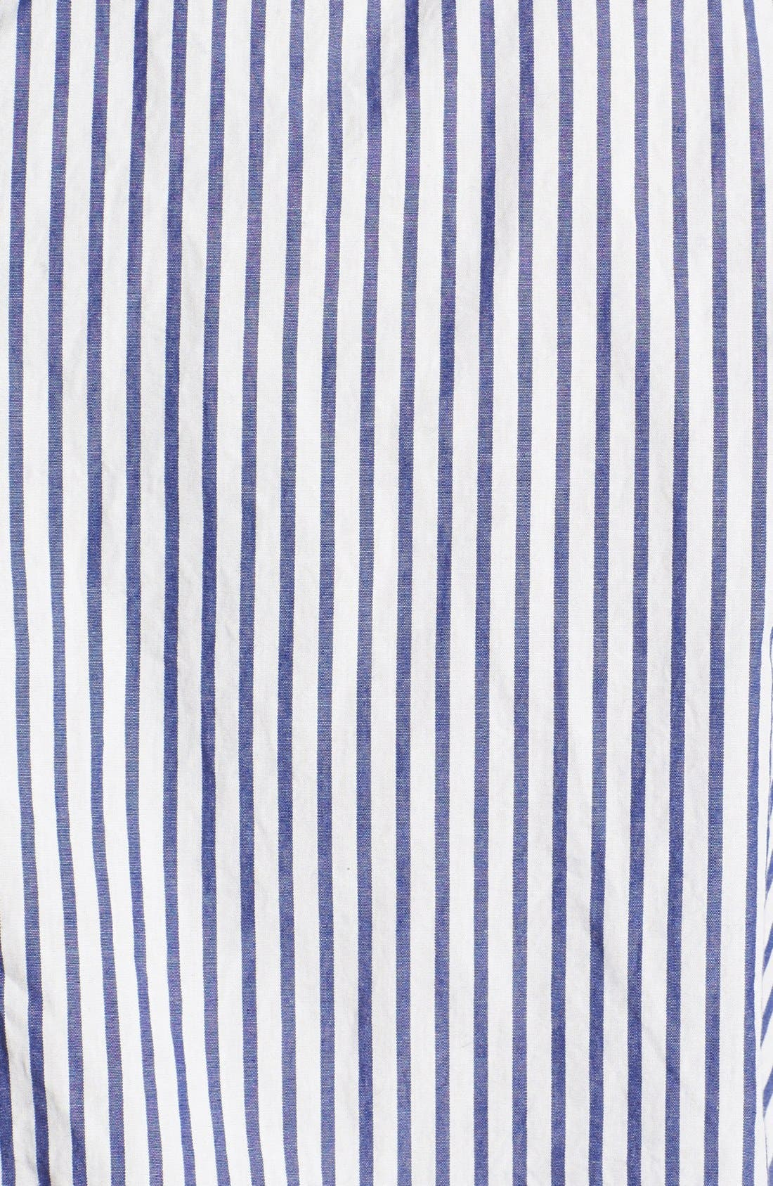 Alternate Image 3  - Save Khaki Stripe Woven Shirt