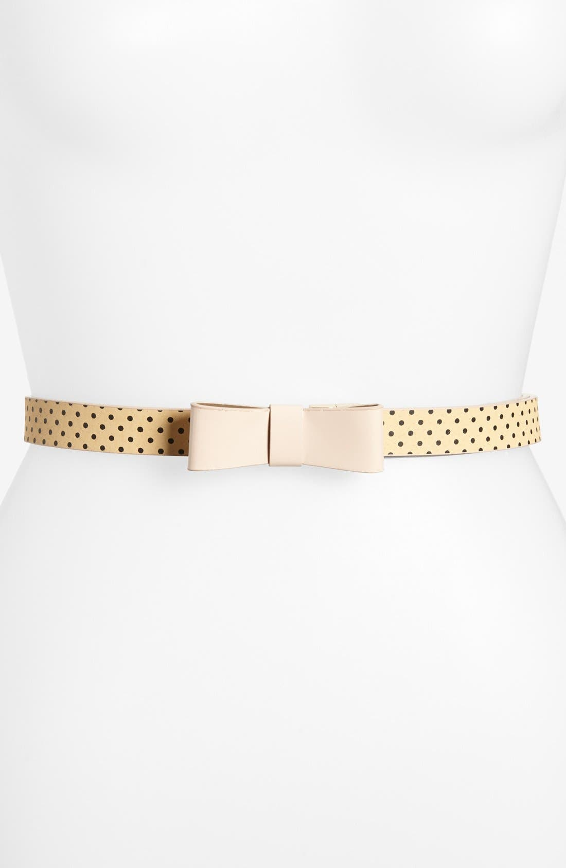 Alternate Image 2  - Tarnish Reversible Faux Leather Belt