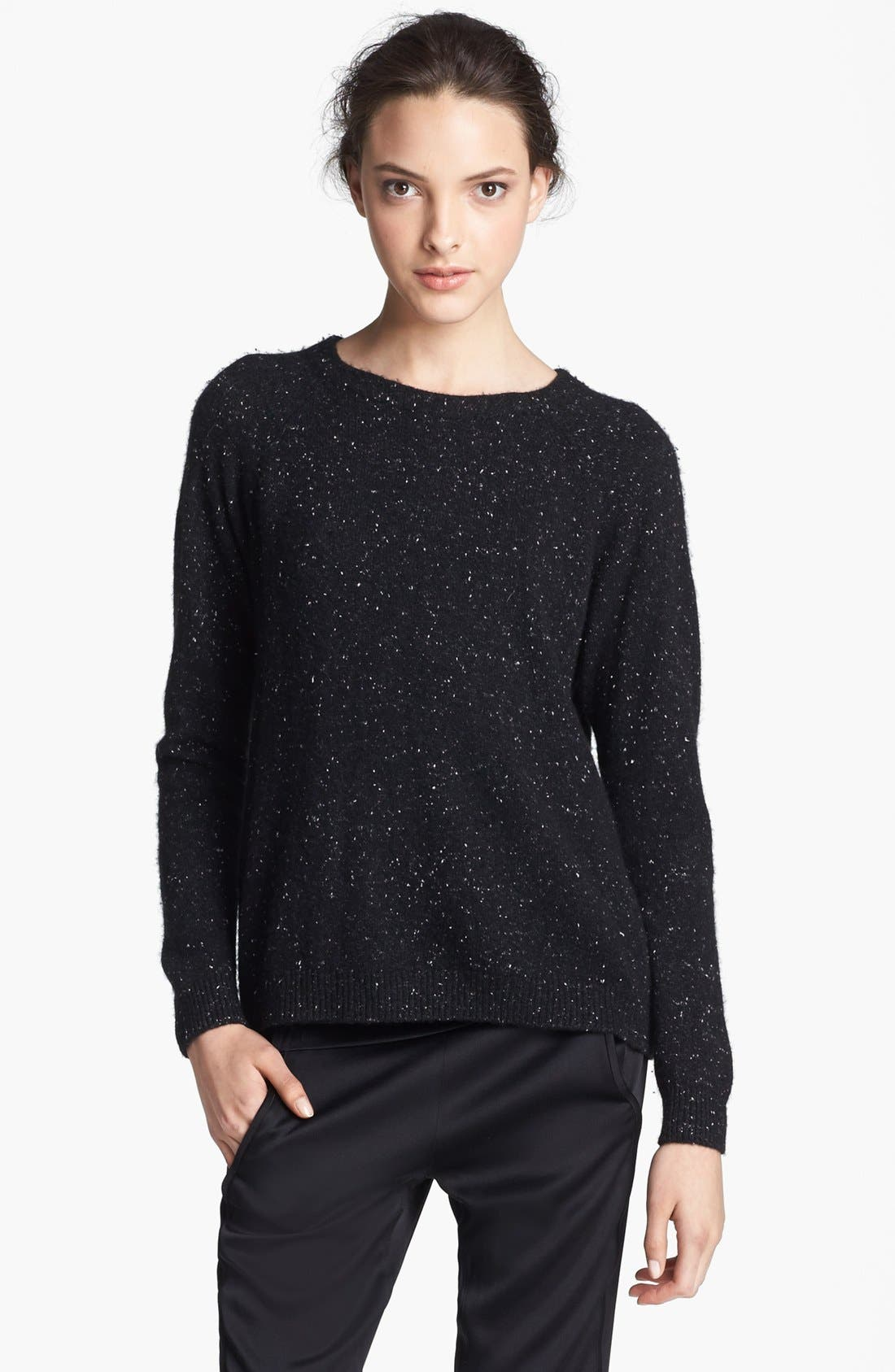 Alternate Image 1 Selected - Alexander Wang Donegal Tweed Knit Sweater